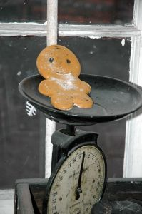 Christmas is NOT the time to lose weight!